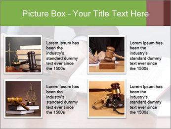 Wooden gavel PowerPoint Template - Slide 14