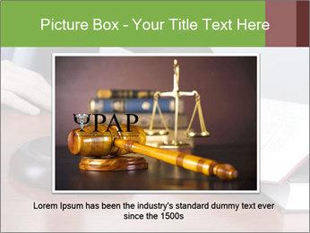 Wooden gavel PowerPoint Template - Slide 15