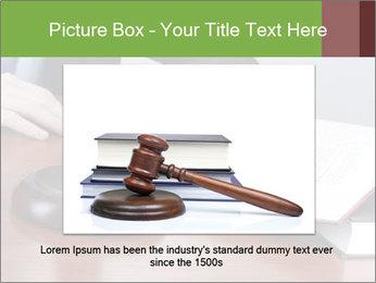 Wooden gavel PowerPoint Template - Slide 16