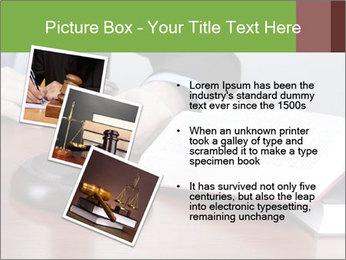 Wooden gavel PowerPoint Template - Slide 17