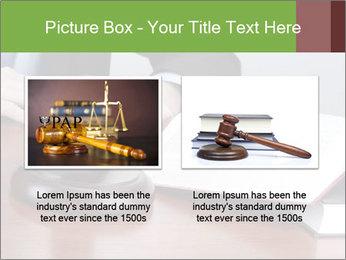 Wooden gavel PowerPoint Template - Slide 18
