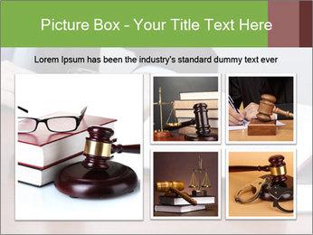Wooden gavel PowerPoint Template - Slide 19