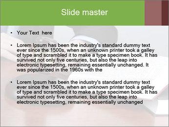 Wooden gavel PowerPoint Template - Slide 2