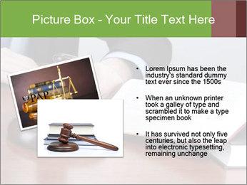 Wooden gavel PowerPoint Template - Slide 20
