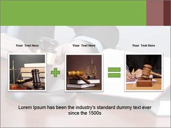Wooden gavel PowerPoint Template - Slide 22
