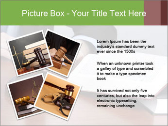 Wooden gavel PowerPoint Template - Slide 23