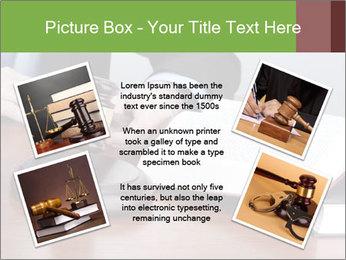 Wooden gavel PowerPoint Template - Slide 24