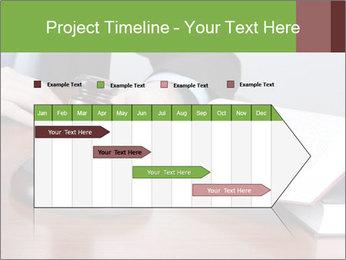 Wooden gavel PowerPoint Template - Slide 25