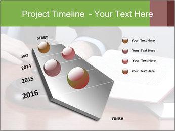 Wooden gavel PowerPoint Template - Slide 26