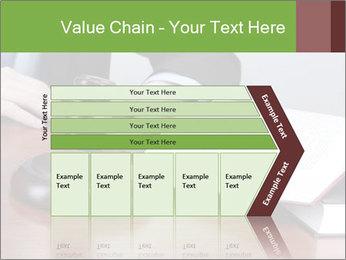 Wooden gavel PowerPoint Template - Slide 27
