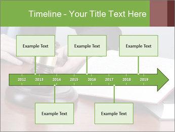 Wooden gavel PowerPoint Template - Slide 28