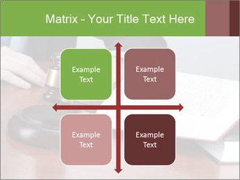 Wooden gavel PowerPoint Template - Slide 37