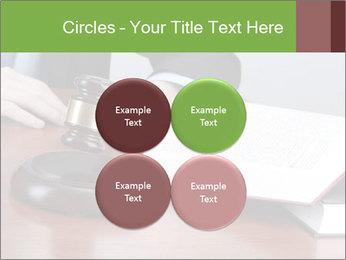 Wooden gavel PowerPoint Template - Slide 38