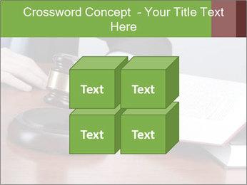 Wooden gavel PowerPoint Template - Slide 39