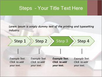 Wooden gavel PowerPoint Template - Slide 4