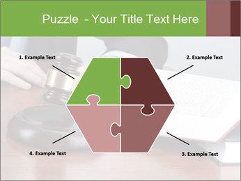 Wooden gavel PowerPoint Template - Slide 40