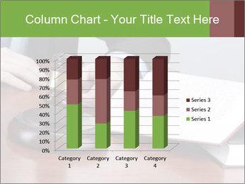 Wooden gavel PowerPoint Template - Slide 50