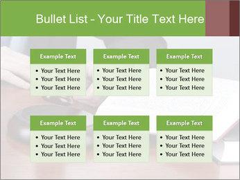 Wooden gavel PowerPoint Template - Slide 56