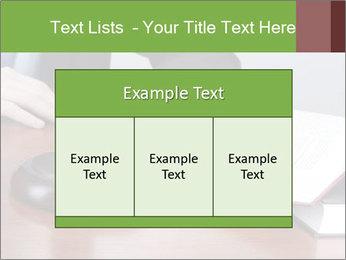Wooden gavel PowerPoint Template - Slide 59