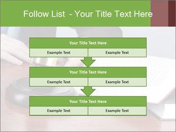 Wooden gavel PowerPoint Template - Slide 60