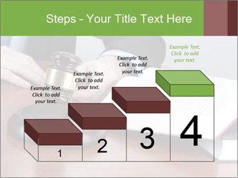 Wooden gavel PowerPoint Template - Slide 64