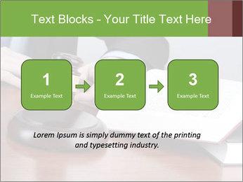 Wooden gavel PowerPoint Template - Slide 71