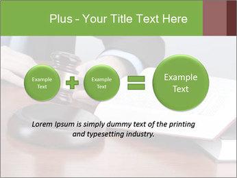 Wooden gavel PowerPoint Template - Slide 75