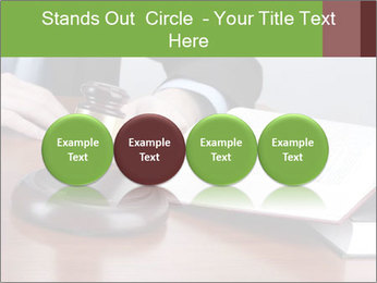 Wooden gavel PowerPoint Template - Slide 76
