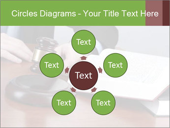 Wooden gavel PowerPoint Template - Slide 78