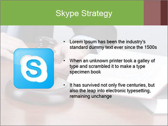 Wooden gavel PowerPoint Template - Slide 8