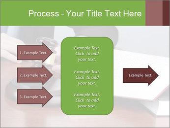 Wooden gavel PowerPoint Template - Slide 85