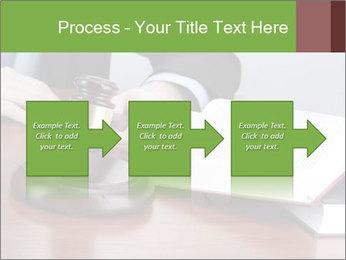 Wooden gavel PowerPoint Template - Slide 88