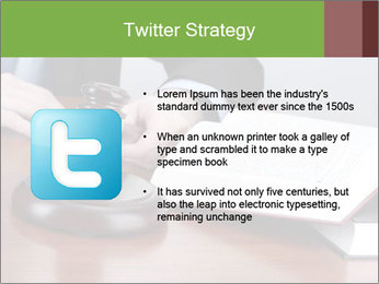 Wooden gavel PowerPoint Template - Slide 9