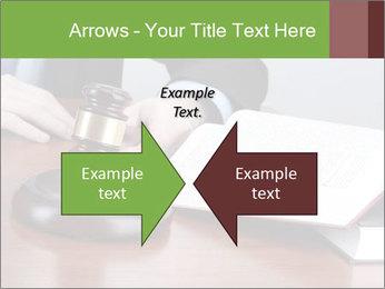 Wooden gavel PowerPoint Template - Slide 90
