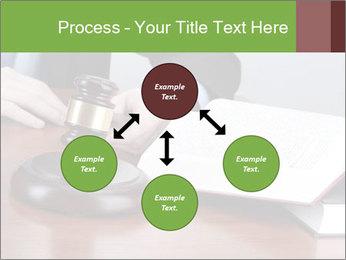 Wooden gavel PowerPoint Template - Slide 91