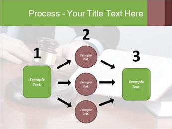 Wooden gavel PowerPoint Template - Slide 92