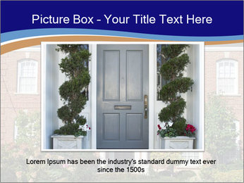 Large House PowerPoint Template - Slide 16