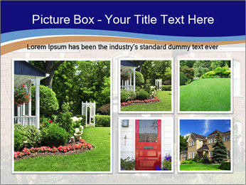 Large House PowerPoint Template - Slide 19