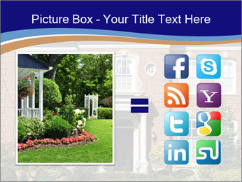 Large House PowerPoint Template - Slide 21