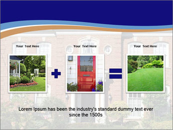 Large House PowerPoint Template - Slide 22