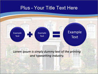 Large House PowerPoint Template - Slide 75
