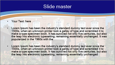 Large House PowerPoint Template