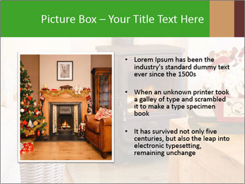 Christmas fireplace PowerPoint Template - Slide 13