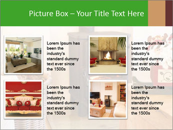 Christmas fireplace PowerPoint Template - Slide 14