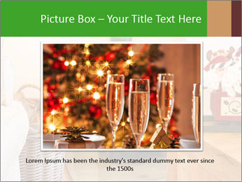 Christmas fireplace PowerPoint Template - Slide 15