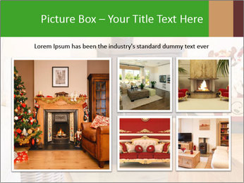 Christmas fireplace PowerPoint Template - Slide 19