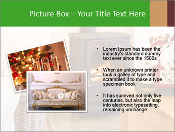 Christmas fireplace PowerPoint Template - Slide 20