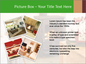 Christmas fireplace PowerPoint Template - Slide 23