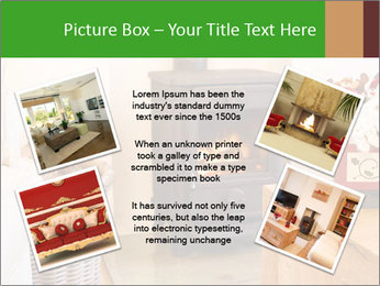 Christmas fireplace PowerPoint Template - Slide 24