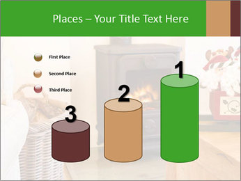 Christmas fireplace PowerPoint Template - Slide 65